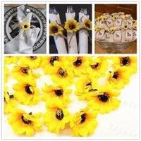 단일 해바라기 테이블 장식품 케이크 아트 공예 장식 시뮬레이션 꽃 결혼식 축하 가짜 해바라기 홈 0 1YS G2