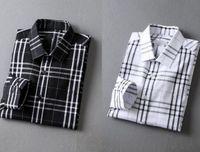 Nigrity 21 printemps mode masculin classique confortable manches décontractées manches longues chemise homme de chemise homme de maillot de forme plus taille m-taille @@ 29