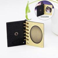 Nimei Yeni Yaratıcı DIY Kolye Bronz Fotoğraf Kitabı Kolye Kolye