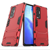For Oppo Reno 5 Pro Plus Cocver Stand Rugged Combo Hybrid Ar...