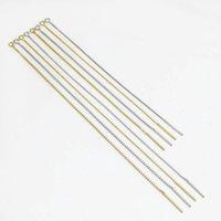 2 adet 9 11.5 cm Uzun Püskül Küpe 925 Gümüş Çizgi DIY Küpe Charm Bağlayıcı Aksesuar Kadınlar Için Piercing Kulak Takı Yapımı H Jlhxn
