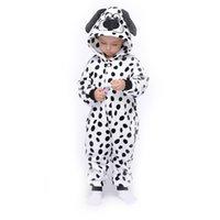 Dalmatians Kids Kigurmis Onesie Pajamasスーツの寝室漫画の女の子の男の子パーティーホームウェアワンピース子供衣装服LJ201216