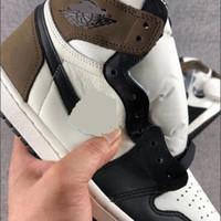 Top Quality Nuovo Jumpman 1 1s High Black Toe Non per la rivendita Uomo Donne Scarpe da basket Obsidiana UNC Nero Black Mens Donne daNekers Sneakers Scarpa