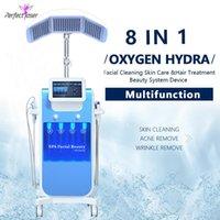 Yeni SPA Hydfaceial Makinesi Yüz Dermabrazyon Cilt Yenileme Hidroofacial Yüz Temiz Tedavi Bio Mikrocurrent Hydra Mikrodermabrazyon