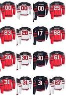 2019 IIHF World Championship Jerseys Jared McCann Jersey Troy Stechher Sean Couturier Mark Stone Anthony Cirelli Jerseys de hockey Costada personalizada