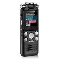 تسجيل الصوت الرقمي O القلم مصغرة شاشة عرض لون ضياع مشغل الصوت Dictaphone مشغل MP3 تسجيل الضوضاء (161