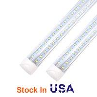 LED 튜브 라이트 4ft 8ft V 자 모양의 통합 LED T8 튜브 라이트 4 5 6 피트 긴 LED 라이트 튜브 AC85-265V