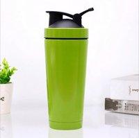 Shake tazza 750ml Tazza isolata sottovuoto 304 Acciaio inossidabile Sport Thermos Protein Latte Tazza di caffè Bottiglia di shaker con coperchio Nuovo arrivo