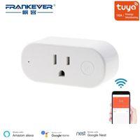 Frankever US Standard 16a WiFi Smart Plug con monitoraggio dell'energia Smart Presa per il lavoro con tuya Alexa Google Home Casa famiglia1