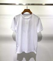 Verano moda diseñador camiseta hombres mujeres hip hop monte paisaje impresión mangas cortas de alta calidad algodón casual tees 7 color