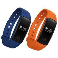 ID107 Smart Armband Fitness Tracker Sports Herzfrequenz-Monitor Smart Watch-Passometer-Schrittzähler-Kamera Smart Armbanduhr für iPhone Android
