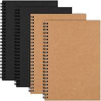 Kraft Cover Coverbooks Revues Planificateur Notepads avec journal de copie marron en papier vierge pour les voyageurs dessinant la peinture