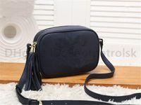 높은 품질 2021 새로운 핸드백 지갑 핸드백 여성 핸드백 가방 크로스 바디 Soho Bag 디스코 어깨 가방 프라이팬 클래식 메신저 가방 지갑