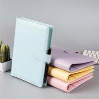 Capa do caderno do caderno da tampa de couro do PU A5 A5 tampa vazia do caderno sem papel PU Faux capa de couro planejadores espirais para papel de enchimento