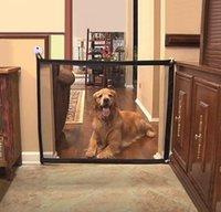 Волшебные собаки Строины Сетка Pet Забор Барьер Складной Безопасный Охранник Крытый Открытый Щенок Собака Отделение Защитить окружающие jllhyz mx_home