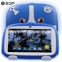 Nouvelles arrivées 7 pouces Enfants Tablet PC Quad Core Android 8.0 Google Play Dual Caméra 16 Go WiFi Favoris pour enfants Favoris Cadeaux 1