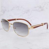 Vintage Gentlemen Designer Carter Rote Holz Quadrat Sonnenbrille Stilvolle Retro Klargläsere Füllung
