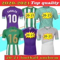 2021 Jersey de football de Betis de Betis 17 Joaquin 10 Canales Hommes + Kit Kit Kit Camiseta de Fútbol Juanmi Fekir Bartra B.iglesias