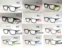 Vendita calda New Brand Materia Black Color Sport Glasses Paesaggio TR90 Frame Uomo Donna Outdoort Sport Frame
