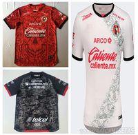20 21 Xolos Club Tijuana Charly D í A de Los Muertos 새로운 고품질 축구 셔츠 멀리 Pachuca 2020 Sanvezzo Miler Camisetas La Liga MX T