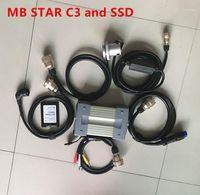 12V / 24V MB Star C3 Полный комплект Автоматический диагностический инструмент X-Try Star C3 Mutiplexer Pro с программным обеспечением SSD 2014.12V Win XP1
