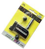 DHL 100ピース/ロットLEDバイクスポークライト14 LEDサイクリングライトホイールスポークバイク30変化