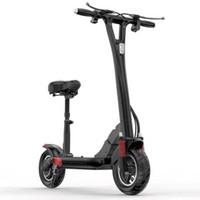 Mini tragbare faltende elektrische Roller Erwachsene 48 V 500 Watt E Roller Elektrische 2 Räder Elektrische Fahrräder mit Bluetooth-Lautsprecher