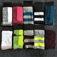 Donne calze lunghe calze multicolor al ginocchio ad alto ginocchio con cartone calzini alti ragazze alta qaulità moda sport skateboard stoccaggio