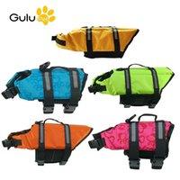 Köpek Yaşamı Yelek Yaz Yüzme Survival Suit Köpek Sörf Kayak Sürüş Giysileri Mayo Saver Yelek 201109