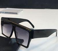 40030 Vintage Okulary Audrey Moda Kobiety Model Big Square Frame Flap Top Oversized Top Okulary przeciwsłoneczne Leopard PC Deska Rama Materiał