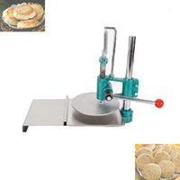 Manuelle Brotgebäck Pizza Teigwalze Pressmaschine / Pizzateig Drücken Sie Kneter Flattenermaschine1