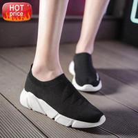 Niedrige Spitzensocken Turnschuhe Wohnungen Schuhe Damen Dames Atmungsaktiv gewebt Gelegenheitsschuhe Outdoor Gehen # y50s
