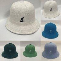 WU03 NOUVEAU France Fashion Kangaroo Hommes Designers Hiver Hiver Hatted HatS Bonnet Bonnet Chapeau de laine plus Velvet Capuche de velours Squullies Masque plus épais frin