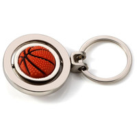 3D Spor Anahtarlık Dönen Basketbol Futbol Golf Anahtarlık Anahtarlık Hediyelik Eşya Kolye Anahtarlık Anahtar Topu Hediyeler YYS3125