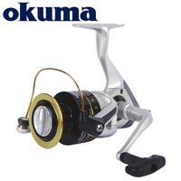 Okuma Original Angelrolle Safina Pro Spining Rolle 6Bearings 5.0: 1/4.5: 1 Verhältnis 4kg-8kg Leistung Korrosionsbeständiger Graphitkörper 201125