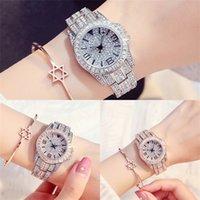 Rhinestone para mulheres feminino design de diamante moda de alta qualidade quartzo senhoras pulseira relógio horloge j1205