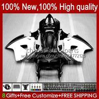 Bodywork pour Honda VFR8RR Blanc Black Intercepteur VFR800 98 99 2000 2001 99HC.100 VFR800R VFR 800RR 800 RR 1998 1999 00 01 Full Catériel