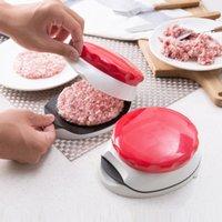Hamburger moule de moule hamburger presse burger fabricant burger presse cuisine gadgets côtelettes presse de cuisine réglable cuisine manuelle moule à viande