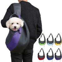 Haustier Hund Sling Carrier Tote Atmungsaktives Mesh Outdoor Reisen Sichere Handtasche Umhängetasche für Hunde Katzen JK2012XB