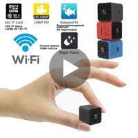 Wi-Fi Micro Home Wireless Video CCTV Mini Sicherheitsüberwachung mit WiFi IP-Kamera-Cam Camara für Telefon HD DVR IPCAMERA PET Hund LJ201205