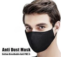 Дизайнерская моющаяся многоразовая маска для лица против загрязнения хлопчатобумажные маски рта с PM2,5 карбоновые фильтры анти пыль респираторной ткани маска