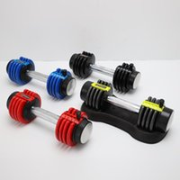 Dummköpfe Fabrik Direkte abnehmbare Hantel Home Fitness Einstellbare Barbell Bauen Armmuskulatur Ausrüstung