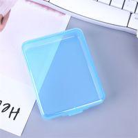 메이크업 주최자 얼굴 마스크 직사각형 빈 상자 보석 상자 투명 플라스틱 스토리지 포장 마스카라 뜨거운 판매 0 54QB C2