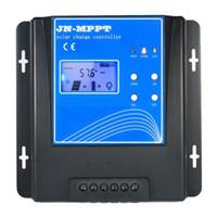 10A MPPT контроллер солнечного заряда 12V / 24V / 48V автоматическая идентификация аккумуляторной батареи регулятор зарядки с ЖК-дисплеем над защитой нагрузки Inter