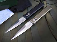 920 Авто тактический складной нож 154 см атласная лезвие CNC Finish 6061-T6 ручка EDC карманные ножи с розничной коробкой