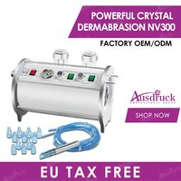 EU Steuerfrei Deutschland Pumpe 2N1 Kristall Diamant Microdermabrasion Dermabrasion Diamant Peeling Haut Verjüngung Falten Entfernung Schönheitsmaschine