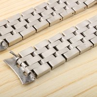 19mm 20mm Solidable en acier inoxydable 1853 Sangle de montre pour E 1853 T-Sport PRC200 T17 T461 T014430 T014410 Watchband Man1