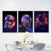 Classic Science Fiction Movie Poster Watercolor Canvas Oil P...