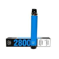 Venda quente Barra Puff Flex 13Colors Original Vape Descartável 10ml Vape Pen Bateria 2800puff mais dispositivo 5% Bestvaporseller e-cigarro encaixotado
