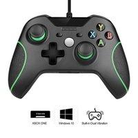 USB проводной контроллер GamePad для Xbox One Console Joystick JoyPad для PC Windows 7/8/10 контроллер игры с разъемом для наушников Y1209